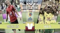 Resultado Medellín vs Atlético Huila en Liga Águila 2016-II (2-1)