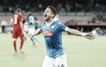 Dries Mertens expected to be out for several weeks with muscle tear