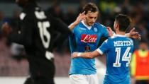 Il Napoli verso la Champions League, Sarri ed i suoi dubbi: Mertens o Gabbiadini a Lisbona?