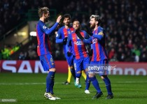 Celtic 0-2 Barcelona: Messi double seals up group for Barca