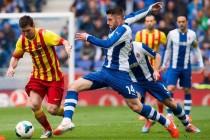 David López vs Lionel Messi