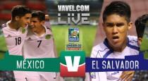 Resultado y goles del México 6-1 El Salvador en Premundial Sub-20
