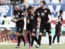 SV Darmstadt 98 1-2 Eintracht Frankfurt: Aigner gives Frankfurt hope of beating the drop