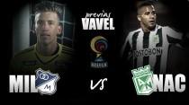 Previa Millonarios - Nacional: El duelo con más estrellas en Colombia