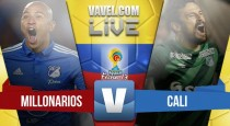 Resultado Millonarios vs Deportivo Cali en vivo online en partido Liga Águila 2016 (1-0)