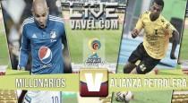 Resultado Millonarios 1-0 Alianza Petrolera  en Liga Colombia (1-0)