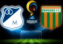 Millonarios vs Envigado en vivo y en directo online por Liga Águila II