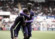 Swansea City 2-4 Manchester City: Swans valiant but Citzens clinical as Touré bags a brace