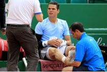 A Disappointing End In Monte Carlo For Raonic, Retiring With A Foot Injury