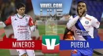 Mineros rescata el empate sobre la hora ante Puebla