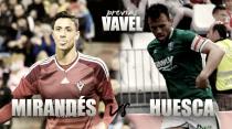 CD Mirandés - SD Huesca: más que tres puntos en juego