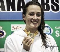 """Mireia Belmonte: """"Ha sido un buen campeonato, era interesante probarse"""""""