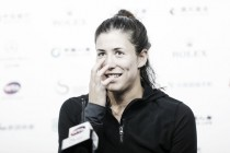 "Garbiñe Muguruza: ""No porque antes haya perdido pronto me vaya a afectar para este torneo"""