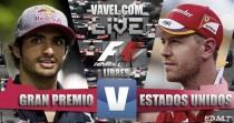 Entrenamientos libres 2 GP de Estados Unidos 2016 de F1 en vivo y en directo online