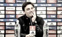 """Milan, Montella: """"Voglio che il Milan mi stupisca, vivo questa sfida come un derby."""""""
