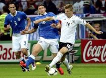 Antecedentes Italia - Alemania: once contra once y Alemania no puede con Italia