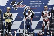 Baldassarri, Rins and Nakagami discuss their Moto2 success in San Marino