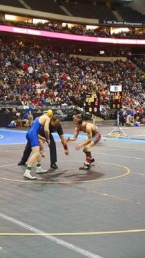 MSHSL State Wrestling Tournament Class AAA Individual Day One Recap