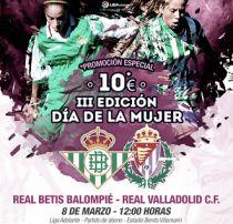 Las mujeres, protagonistas el próximo domingo ante el Valladolid