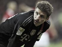 Thomas Müller happy to pick up another treble
