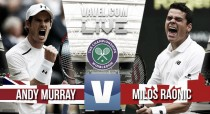 Andy Murray Wins His Second Wimbledon Title After Beating  Milos Raonic 6-3 7-6 (3) 7-6(3) - How It Happened