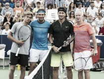 Rafa Nadal academy opens with star-studded exhibition