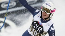 Trionfo Fanchini, podio Merighetti: l'Italia fa festa a La Thuile