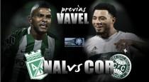 Previa Atlético Nacional - Coritiba: 'verdolagas' y 'gloriosos' por un lugar en las semifinales