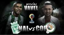 Nacional - Cortuluá: La visita quiere seguir sumando puntos