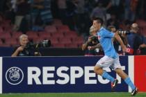 Napoli, testa alla Champions: in arrivo il Benfica