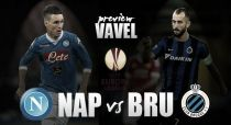 Napoli vs Club Brugge: Italians look to make early running in Group D