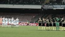 Napoli é superior e bate Inter em jogo marcado por homenagens à Chapecoense