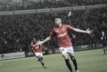José Naranjo: velocidad, desborde y gol