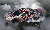 Kevin Harvick takes win in gruelling Coca Cola 600
