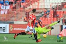 El Nàstic sabe sufrir y suma los tres puntos contra el Tenerife
