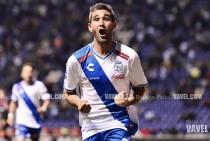 """Álvaro Navarro: """"Me voy más contento por la victoria que por los tres goles"""""""
