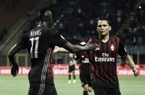 Il Milan si prepara al big match contro la Juventus: Bacca torna titolare al centro dell'attacco