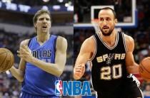 Ginóbili y Nowitzki, leyendas vivas del básquetbol, listos para la NBA en México