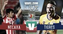 Resultado y goles del Necaxa 1-1 Tigres en Liga MX