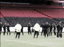 Atlético Nacional trabaja en Rosario pensando en Central