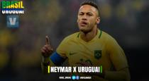 Neymar busca quebrar tabu e marcar primeiro gol como profissional diante do Uruguai