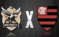 Resultado Nova Iguaçu 0-4 Flamengo pelo Campeonato Carioca