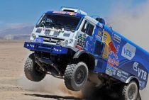 Nikolaev cabalga hacia su segundo Dakar