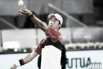 Nishikori vence a Delbonis en tres sets