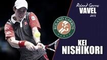 Roland Garros 2016. Kei Nishikori: contra viento y marea