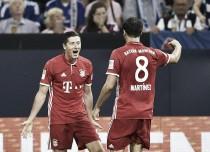 El Bayern sufrió pero acabó ganando