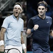 Federer y Delpo: veteranos cara a cara