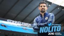 Nolito, nuevo jugador del Manchester City