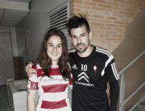 Nolito colabora con el Vigo Rugby Femenino