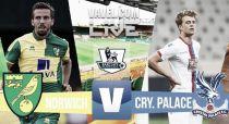 Score Norwich City - Crystal Palace in Premier League 2015 (1-3)